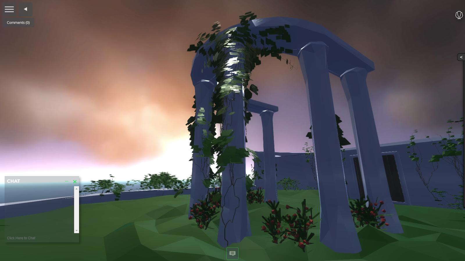 Sky garden in JanusWeb