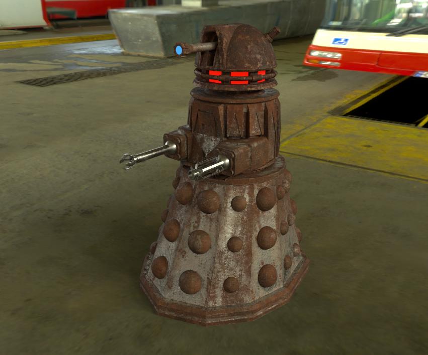 Junk dalek for Fallout 4