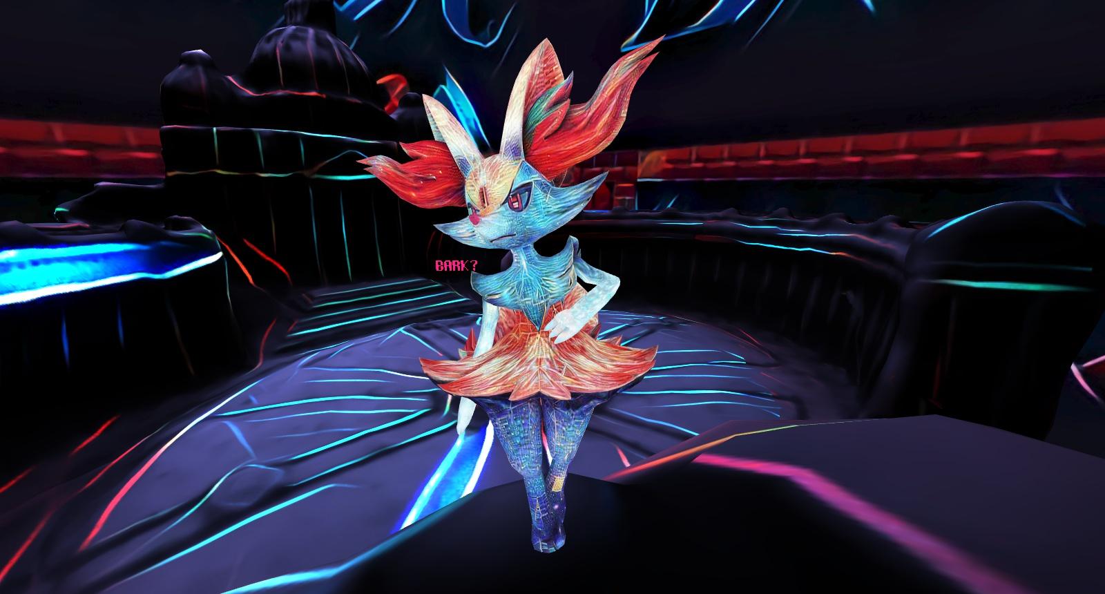 Style transfer on a Pokkén Tournament screenshot, used as my avatar