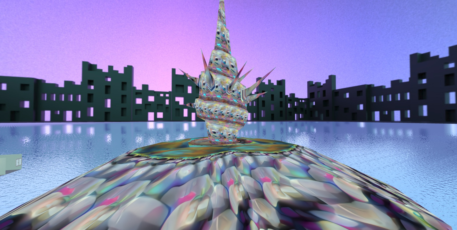 aesthetic fairy island