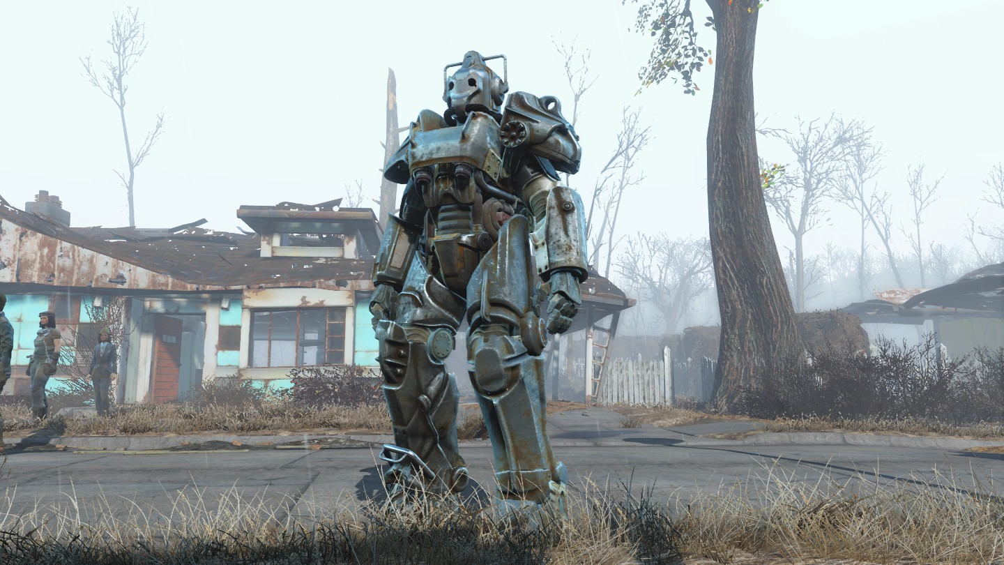Power-armor Cyberman