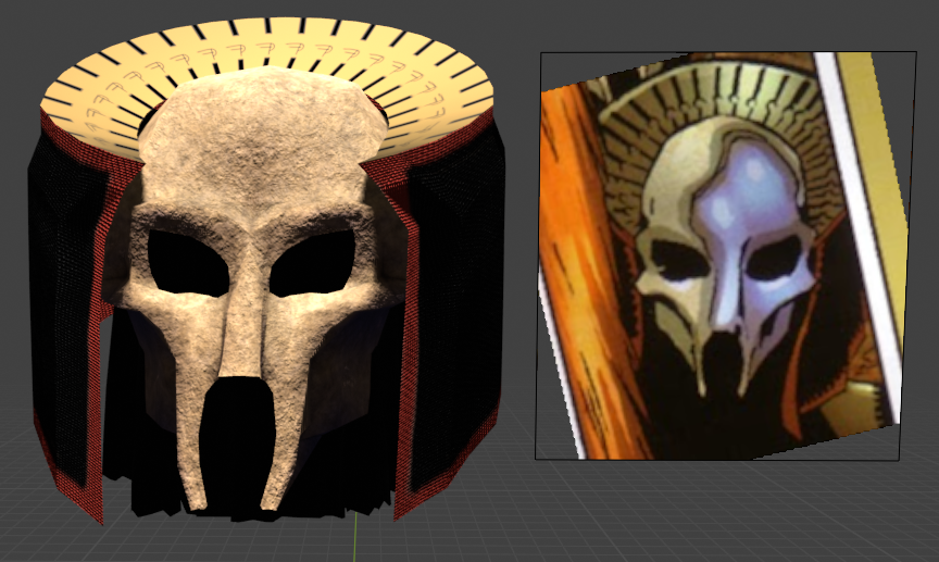 Faction Paradox mask for New Vegas mod